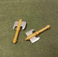 1 Custom lego metalic spiked fantasy castle spear javelin LotR Hobbit Elf knight