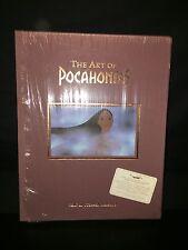 Signed, Ltd Slipcase + Sericel Art Of Pocahontas '95 Disney Gift