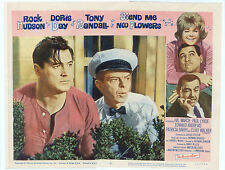 SEND ME NO FLOWERS  Lobby Card #6 - ROCK HUDSON