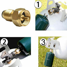 Propane Refill Adapter Gas Cylinder Tank Coupler Heater Camping Outdoor BBQ   LA