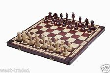 Brand New Hand Crafted Tournament 8 Wooden Chess Set 55cmx 55cm Weighted Pieces.