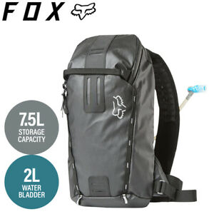 Fox UTILITY Hydration Pack Black - Small 7.5L (2L Reservoir)