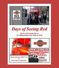 New Midland Red Book 'Days of Seeing Red' Stories of everyday life on the BMMO