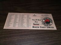1950's NORTHERN PACIFIC NORTH COAST LIMITED INK BLOTTER #4