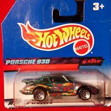 HOT WHEELS  90s porsche 930_mint on short CARD