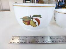 Royal Worcester Evesham Gold Fine Porcelain Large Pudding Serving Bowl