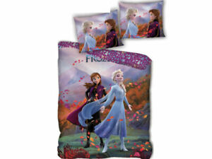 New Official Disney Frozen 2 Single Duvet Set Bedding Set Elsa & Anna