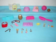 Barbie & Other Brands Doll Accessories Lot Tools Register Sports Baby Phone