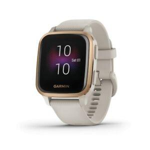 Garmin Venu Sq Music Edition GPS Watch With Rose Gold Bezel 010-02426-01