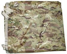 New British Army Issue MTP Multicam Camo Shelter Basha Sheet Tarp + Stuff Sack