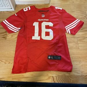 Nike On Field NFL San Fransico 49ers Joe Montana 16 Jersey 40 Sewn