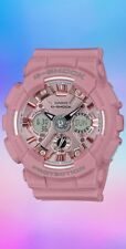 Casio G-Shock S-Series Pastel Series GMAS120DP-4A Pink 2018 Brand New Withtags