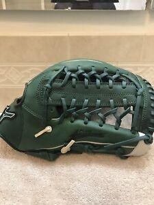 """Mizuno GMVP-1277 PSE3 12.75"""" Green Baseball Softball Glove Right Hand Throw"""
