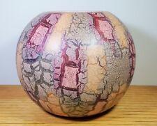 """Mid Century Modern Scheurich West Germany  8"""" Round Vase 508-20-Mint"""