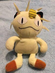 Meowth - Pokemon HASBRO Plush Soft Toy Nintendo Game Freak RARE