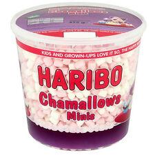 HARIBO CHAMALLOWS MINIS 1 TUB OF PINK & WHITE MARSHMALLOWS TREATS PARTY KIDS