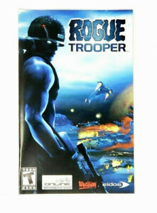 Rogue Trooper Sony PlayStation 2 PS2 Instruction Manual Only