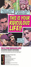 THIS IS YOUR RIDICULOUS LIFE AN IMPOV COMEDY ADVERTISING COLOUR POSTCARD