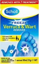 Scholl Verruca and Wart Remover Freeze Treament, 80ml
