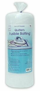 June Tailor Two-Sided Fusible Poly Batting-Queen 90 x 108-Inch/Queen
