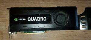 Nvidia Quadro K5000 4GB GDDR5 PCI-Express 2.0 Graphics Card Dual HDMI DP DVI