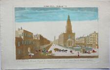 Londres : Vue de la maison Royale de Somerset avec l'Eglise de Ste Marie.(18éme)