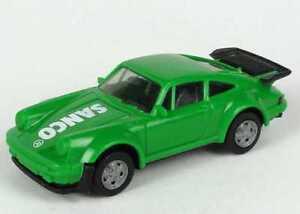 1:87 Porsche 911 turbo grün green Sanco - herpa