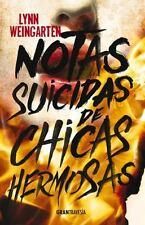 NOTAS SUICIDAS DE CHICAS HERMOSAS - WEINGARTEN, LYNN - NEW BOOK