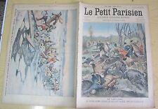 Le petit parisien 934 (1906) accident chasse roi portugal russi néva catastrophe