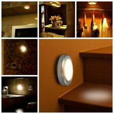 LED Motion Sensor Light Outdoor Indoor Wall Stair Shed Lamp Battery Safety UK