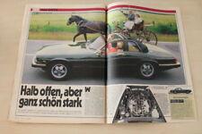 Auto Bild 14408) Jaguar XJ SC V12 mit 295PS im TEST auf 3 Seiten