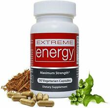 Best Energy Pills - Extreme Energy - Fast, No Crash or Chemicals - Herbal Nitro
