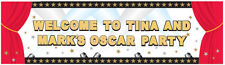 Hollywood Giant Sign Banner Personalise Your Own Poster Banner Party Decoration