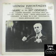 – Wilhelm Furtwängler Conducts Music Of The 20th Century 1973 lp BWS-708 -  Mint