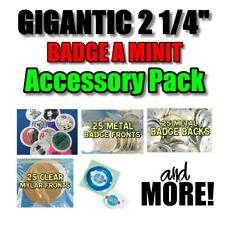 "Badge A Matic Minit minute 2 1/4"" Accessory pack Badge Parts Cutter Mat & More!"