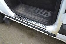 Einstiegsleisten Ford Transit Tourneo Custom mit Prägung aus Edelstahl