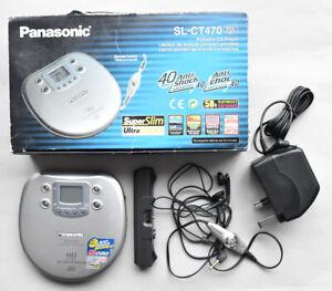 Panasonic SL-CT470 portable CD player