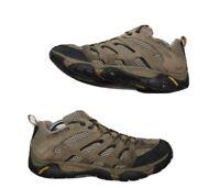 Merrell Mens Moab 2 Ventilator Hiking Shoes Size 9.5 Boots j86595 Walnut