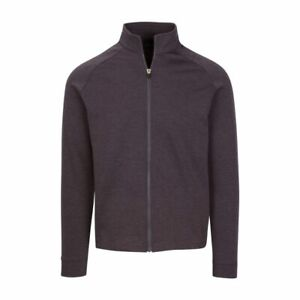 "Mens Dunning Stein Full Zip Dark Charcoal Sweater -  Small 40-42"""