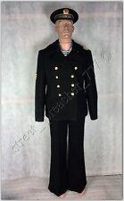 Russia Soviet USSR Naval suit uniform seama Black Sea trousers jacket cap Gyuis