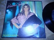 BONNIE TYLER I´M JUST A WOMAN / SITTING ON THE EDGE OF THE OCEAN UK RCA RECORDS*