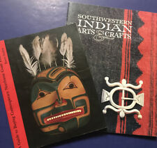 Lot of 2 Indian Arts and Crafts Book & Guides -Southwestern /Northwest
