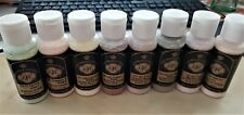 8 Acrylic Paints Set 33 DOC HOLLIDAY COLORS 2oz. self sealing