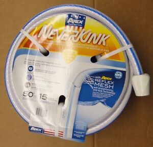 "NEVERKINK - RV/Marine Water Hose 50ft. x 5/8"" - NEW"