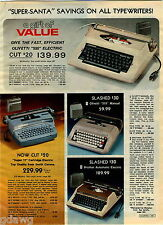 1978 ADVERTISEMENT Typewriter Electric Brother Super 12 Olivetti Smith Corona