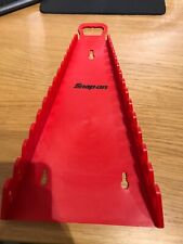 Snap On Spanner Storage Rack In Red Holds 15 NEW