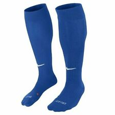 NWT 1 pair Unisex Nike Classic Cushioned Knee High Soccer Socks Blue Dri-Fit