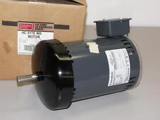 Carrier Condenser Fan Motor HC51TE460, 1HP, 460VAC, 1075 RPM, FR 56, 1PH