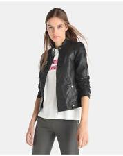 Cappotti e giacche da donna nere in pelle business
