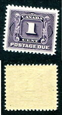Mint Canada Postage Due Stamp #J1 (Lot #6656)